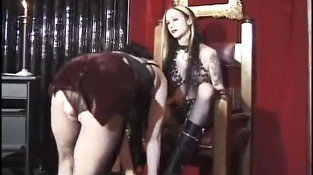 Goth Mistress Ties Up Her Pretty Princess - Vixen Pictures