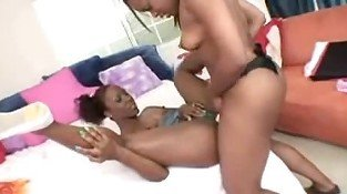 Chocolate college lesbians p2