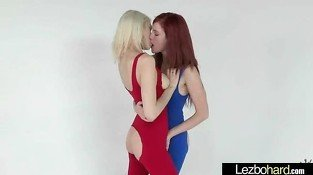 Hot Sexy Lesbian Girls In Sex Action Scene clip-25