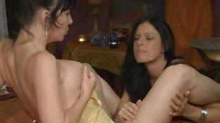 Mature Lesbian Loves Her Friend