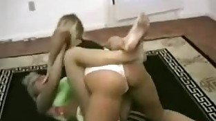 Blonde vs Blonde Catfight (2)