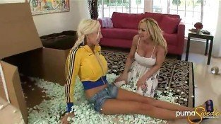 Puma Swede and Tyler Faith - Lesbian sex video