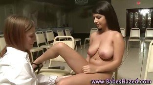 College teen pledges toying