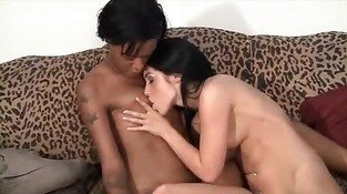 Two hot lesbians having fun