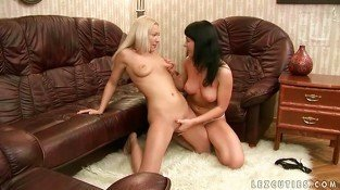 Cute teens making love
