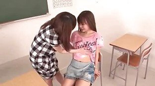 teen lez couple have fun
