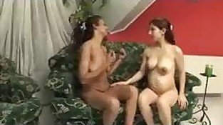 Lesbian Barefoot And Pregnant 2 - scene 2 - Heatwave