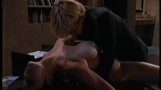 Leslie Glass And Morgan Fairlane Lesbian Scene