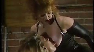Porsche Lynn, Sharon Kane; Leather Bound Dykes From Hell 2 - Scene 4 - Biza