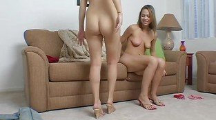 Horny schlongs are pleasured by lusty babes