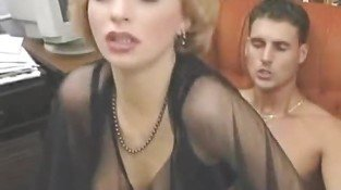 Please name the blonde actress of the film - Mature sex video