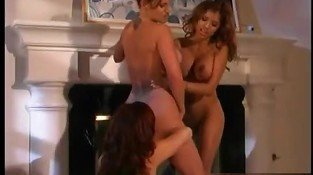 Alexis Amore  Misty Mendez and Shelbee Myne sit at