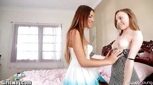 Girlsway August Ames Lesbian Facesitting