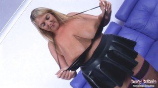 Big Tits Carol Brown Latex Fun - Erotic sex video